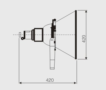 cntc9210/a防震型投光灯